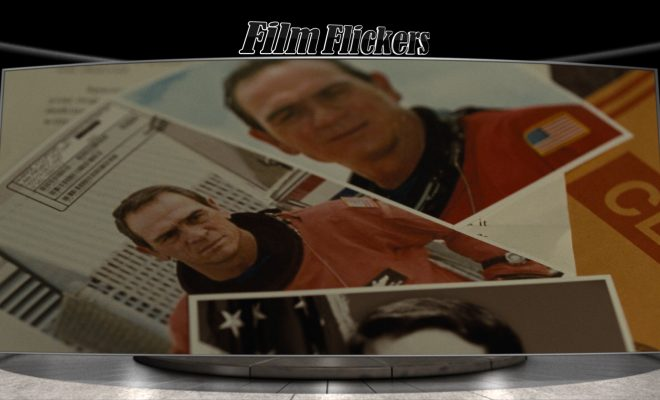 Image of photos seen on desk of an astronaut