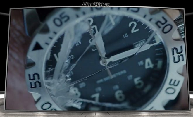 Image of a close up shot on a broken watch
