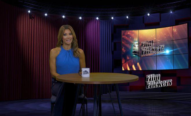 Image of Kimberly Crawford on set