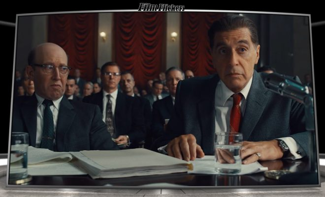 Image of lawyers and people in courtroom