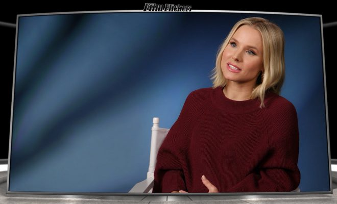 Image of Kristen Bell talking about Frozen II