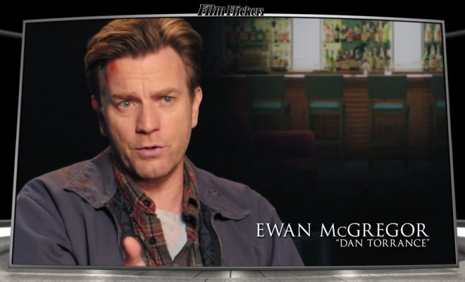 Image of Ewan McGregor talking about Doctor Sleep