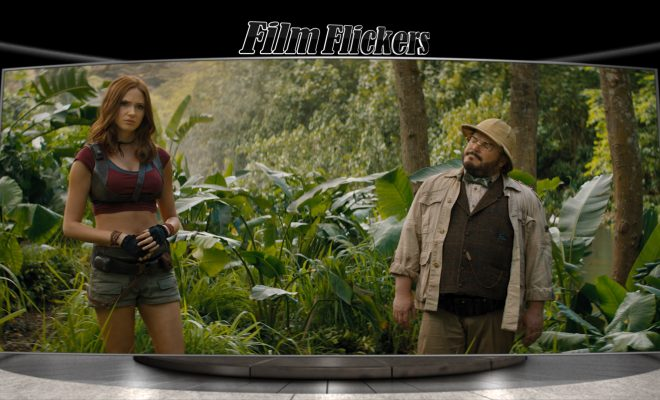Image of Karen Gillan and Jack Black in Jumanji: The Next Level