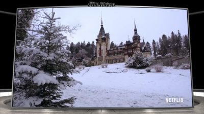 Image of a castle from A Christmas Prince: The Royal Baby