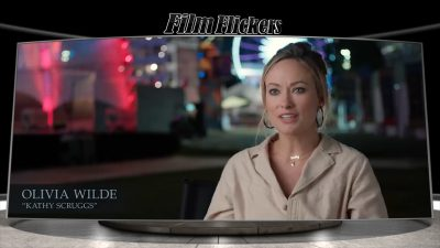 Image of Olivia Wilde talking about the movie Richard Jewell