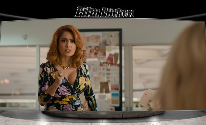 "Image of Selma Hayek in an office from ""Like A Boss"" film"