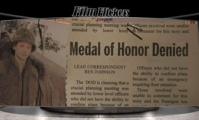 Image of a clipping of an old newspaper article about a Medal of Honor denied