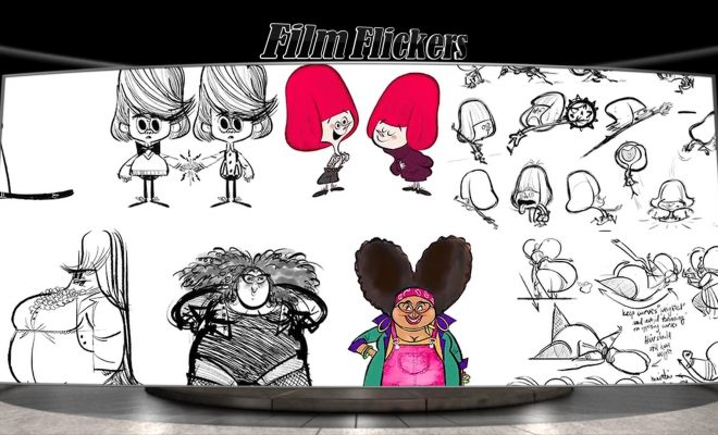 "Image of illustration options for the film ""The Willoughbys"""