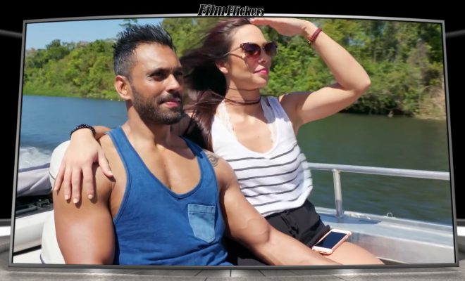 "Image of a couple in a boat from the TLC show ""90 Day Fiancé: Before The 90 Days"""