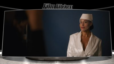 """Image of Tracee Ellis Ross as Grace Davis during a photo shoot in the film """"The High Note"""""""